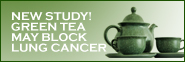 Green Tea may block lung cancer