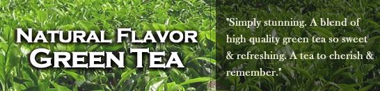 Modern Teaism Natural Flavor Green Tea